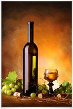 Poster - Poster Weißwein