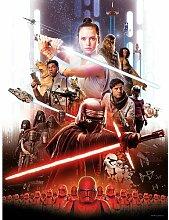 Poster Star Wars Filmposter mit Rey Komar