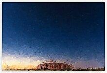 Poster Uluru Ayers Rock in Australien Big Box Art