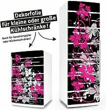 """Posterdeluxe 12060[C] Kühlschrank- / Spülmaschinen-Aufkleber """"Floral Grunge"""""""