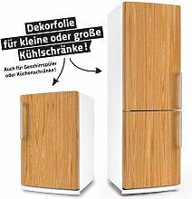 """Posterdeluxe 12340[C] Kühlschrank- / Spülmaschinen-Aufkleber """"Buchenholz"""""""