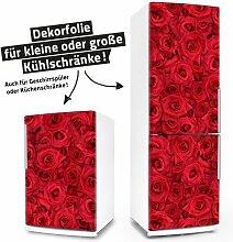 "Posterdeluxe 12500[C] Kühlschrank- / Spülmaschinen-Aufkleber ""Rosen"""