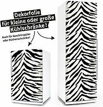 "Posterdeluxe 12540[C] Kühlschrank- / Spülmaschinen-Aufkleber ""Zebra"""