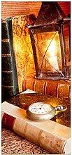 posterdepot Türtapete Türposter Antike Laterne