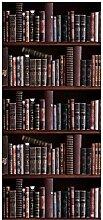 posterdepot Türtapete Türposter Bücherregal mit