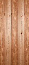 posterdepot Türtapete Türposter Holzmuster - Oberfläche mit Holzmaserung II - Größe 93 x 205 cm, 1 Stück, ktt0731