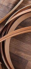 posterdepot Türtapete Türposter Holzparkett mit Dekoelementen aus Holz - Größe 93 x 205 cm, 1 Stück, ktt0619