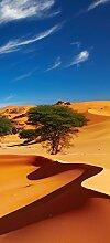 posterdepot Türtapete Türposter In der Wüste Sahara - Größe 93 x 205 cm, 1 Stück, ktt0583
