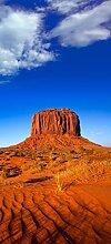 posterdepot Türtapete Türposter Monument Valley am Abend I - Größe 93 x 205 cm, 1 Stück, ktt0584