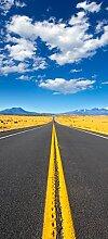 posterdepot Türtapete Türposter Route 89 in Arizona - Am Ende der Horizont - Größe 93 x 205 cm, 1 Stück, ktt0599