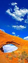 posterdepot Türtapete Türposter Steinbogen unter blauem Himmel - Arches National Park USA - Größe 93 x 205 cm, 1 Stück, ktt0596