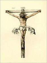 Posterlounge Acrylglasbild 100 x 130 cm: Christus