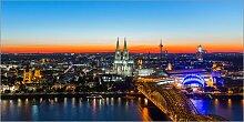 Posterlounge Acrylglasbild 100 x 50 cm: Köln
