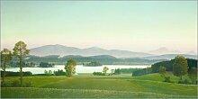 Posterlounge Acrylglasbild 100 x 50 cm: Staffelsee