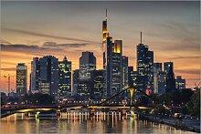 Posterlounge Acrylglasbild 100 x 70 cm: Frankfurt