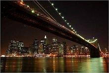 Posterlounge Acrylglasbild 150 x 100 cm: Manhattan