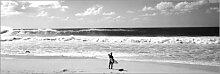 Posterlounge Acrylglasbild 180 x 60 cm: Surfer am
