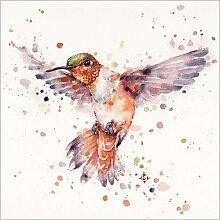 Posterlounge Acrylglasbild 20 x 20 cm: Rufus der