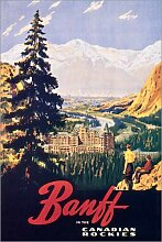 Posterlounge Acrylglasbild 20 x 30 cm: Banff