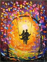 Posterlounge Acrylglasbild 30 x 40 cm: Romantische