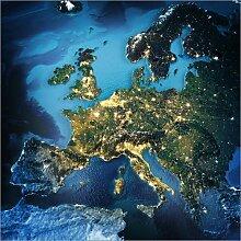 Posterlounge Acrylglasbild 40 x 40 cm: Europa aus