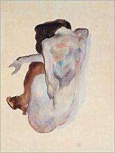 Posterlounge Acrylglasbild 50 x 70 cm: Frau in