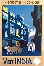 Posterlounge Acrylglasbild 80 x 120 cm: Besuche