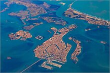 Posterlounge Acrylglasbild 90 x 60 cm: Venedig,