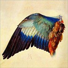 Posterlounge Leinwandbild 20 x 20 cm: Flügel