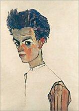 Posterlounge Leinwandbild 30 x 40 cm: Egon