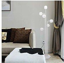 Postmoderne Glas LED Stehleuchte Nachttisch