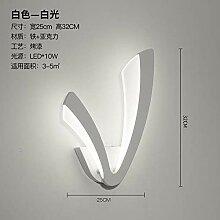 Postmoderne minimalistische Wandlampe Wohnzimmer