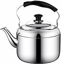 Pot 6L-Silber-Edelstahlpfeife-Teekanne mit