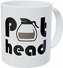 Pot Head 11 Ounces Funny Coffee Mug