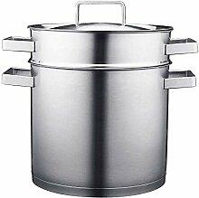 Pot Pan-Sets 304 Edelstahl Suppentopf 24cm