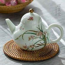 POTOLL Teekanne mit Sieb Farbe Teekanne Jingdezhen