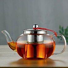 POTOLL Teekanne mit Sieb Filter Bubble Teekanne