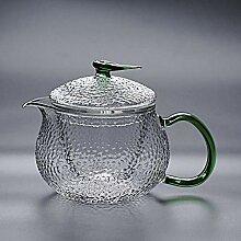 POTOLL Teekanne mit Sieb Hammer verdickt