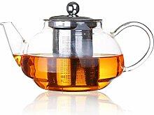 POTOLL Teekanne mit Sieb Hitzebeständiges
