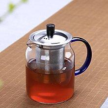 POTOLL Teekanne mit Sieb Tee-Set große Teekanne