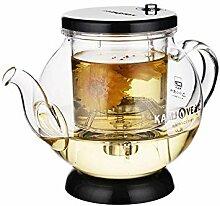POTOLL Teekanne Teezeremonie Tasse Glas Teekanne