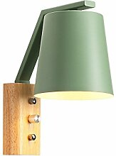 Pouluuo \ Nordic Holz Wandlampe modernen