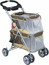 POUSSETTE CHIEN Kinderwagen/Regenschutz für Hunde