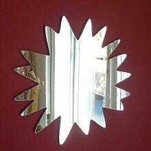 Pow Spiegel, 12 cm x 12 cm