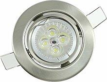 Power LED Einbaustrahler Einbauleuchte Set