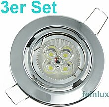 Power LED Einbaustrahler Einbauleuchte