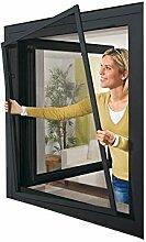 POWERFIX Alu Insektenschutz Fenster, 130 x 150 cm