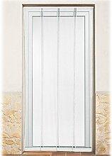 POWERFIX Fliegengitter Lamellenvorhang für Türen max. 100 x 210 cm (B X H)