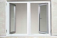 Powerfix® Profi+ Alu Insektenschutz Fenster SLIM 1,30 x 1,50m Weiß