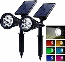 PowerKing 2pcs Solar Gartenlampe LED, Solarleuchte